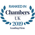 Chambers 2019 Ranked In