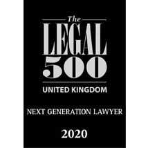 Next Generation Lawyer - Legal 500 2020